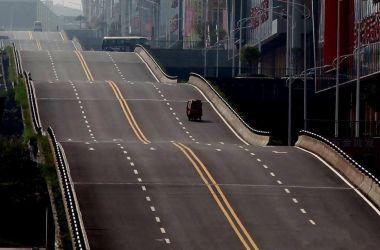 الانتهاء من إنشاء طريق مموج في مدينة تشونغتشينغ الصينية !